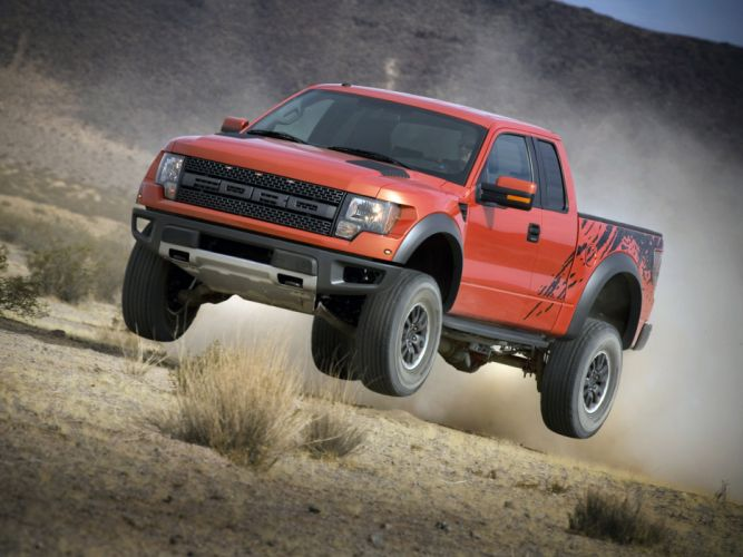 2008 Ford F-150 Raptor SVT 4x4 truck offroad wheel wheels wallpaper