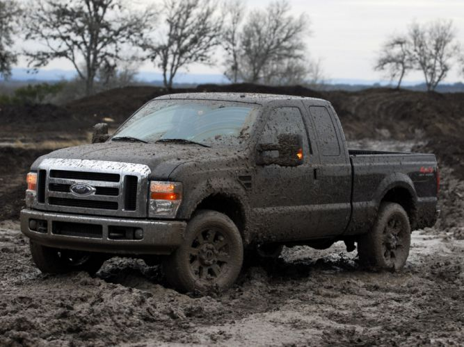 2008 Ford F-250 SuperDuty CrewCab truck 4x4 offroad wallpaper