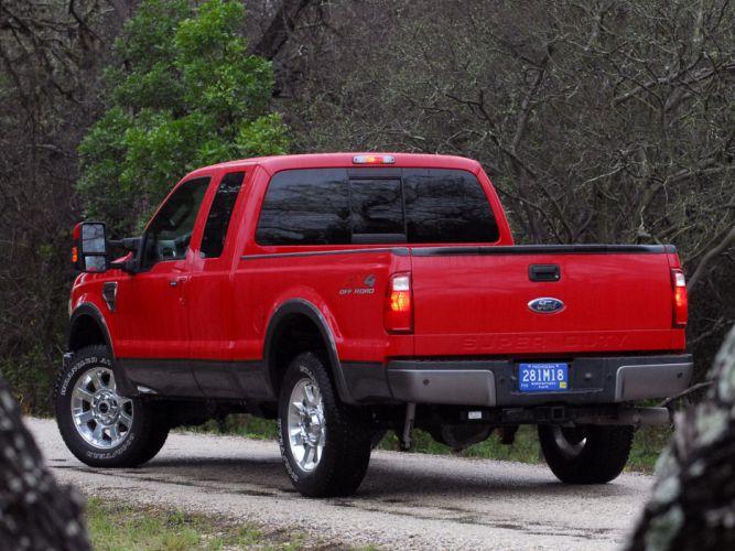 2008 Ford F-250 SuperDuty FX4 truck 4x4 d wallpaper