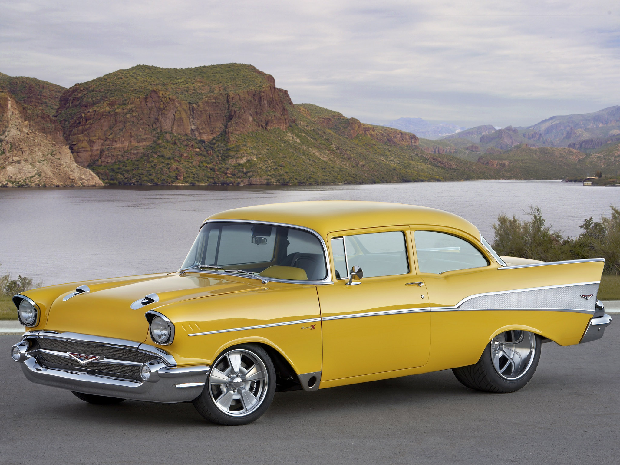 1957 Chevrolet, Car, Old Car Wallpapers HD / Desktop and Mobile ...