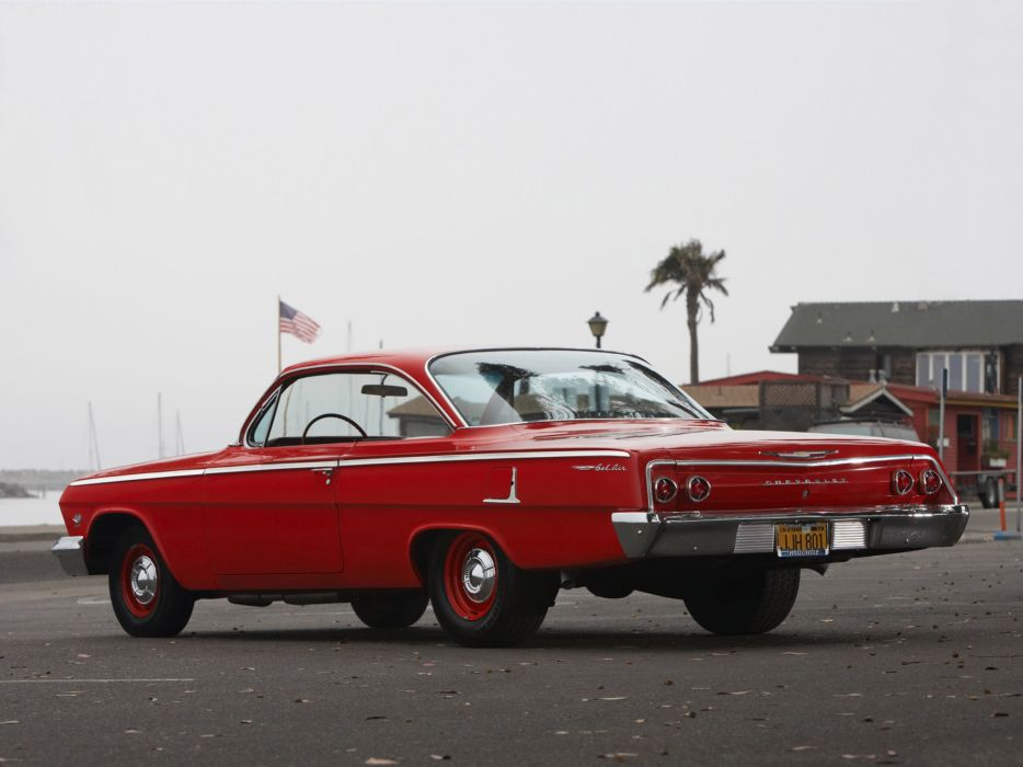 1962 Chevrolet BelAir 409 SportCoupe classic muscle wallpaper
