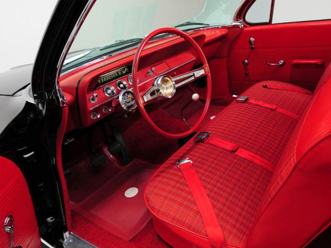 1962 Chevrolet Biscayne 2-door Sedan classic muscle interior wallpaper