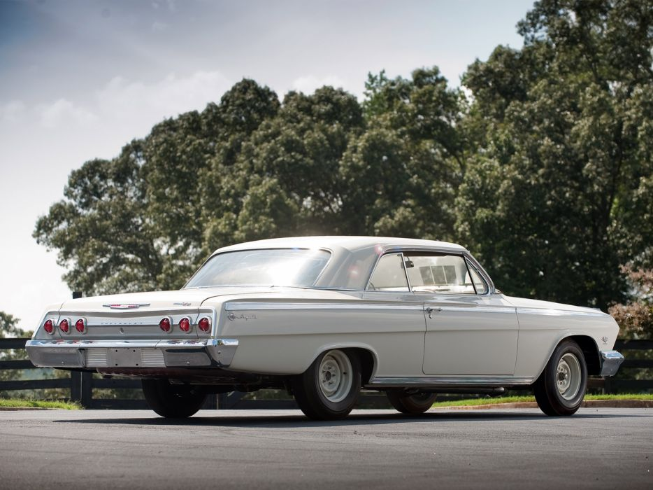1962 Chevrolet Impala S-S 409 Lightweight Coupe classic muscle  f wallpaper