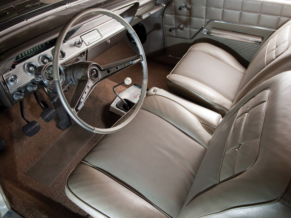 1962 Chevrolet Impala S-S 409 Lightweight Coupe classic muscle interior wallpaper