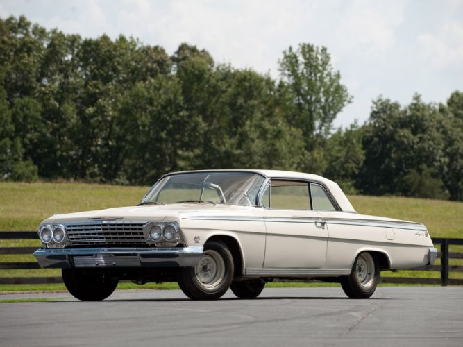 1962 Chevrolet Impala S-S 409 Lightweight Coupe classic muscle wallpaper