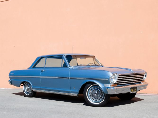 1963 Chevrolet Nova S-S Hardtop Coupe classic muscle wallpaper