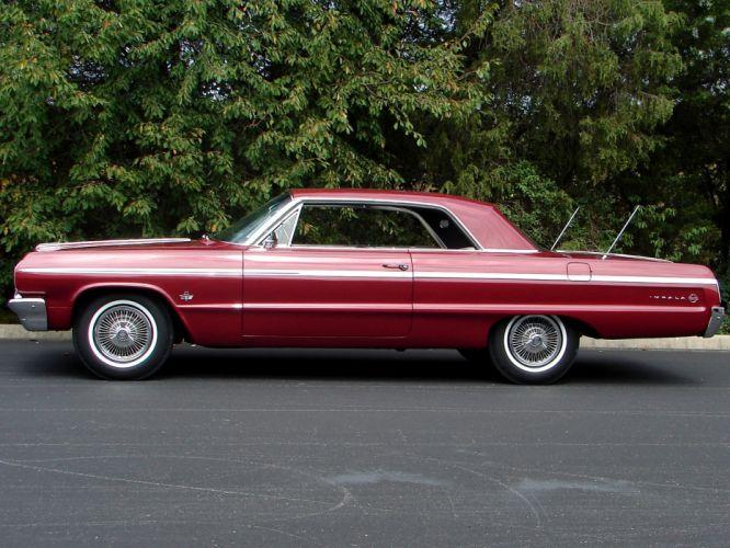 1964 Chevrolet Impala S-S classic muscle f wallpaper