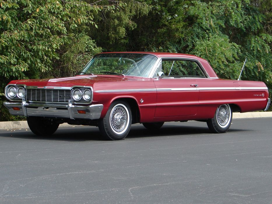 Cars That Start With A C >> 1964 Chevrolet Impala S-S classic muscle wallpaper | 1600x1200 | 108583 | WallpaperUP