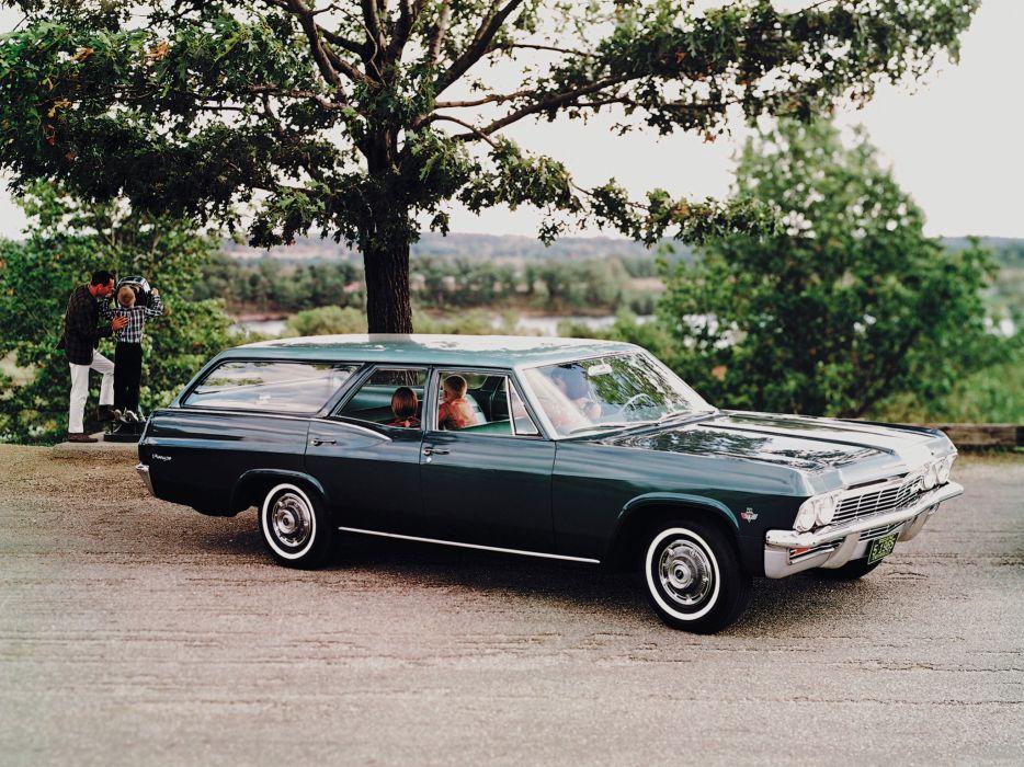 1965 Chevrolet Biscayne StationWagon classic wallpaper