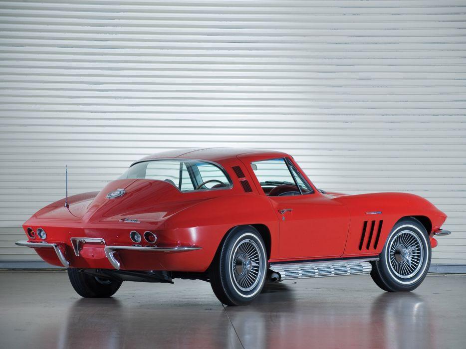 1965 Chevrolet Corvette C2 Sting Ray 327 L84 classic muscle supercar supercars   f wallpaper