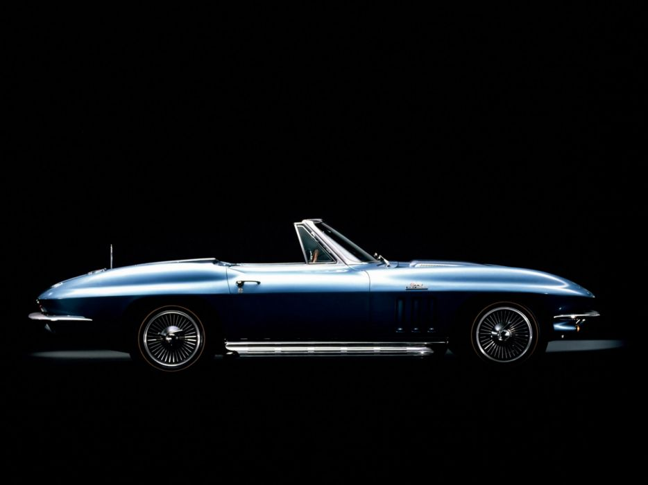 1965 Chevrolet Corvette C2 Sting Ray Convertible classic muscle supercar supercars    d wallpaper
