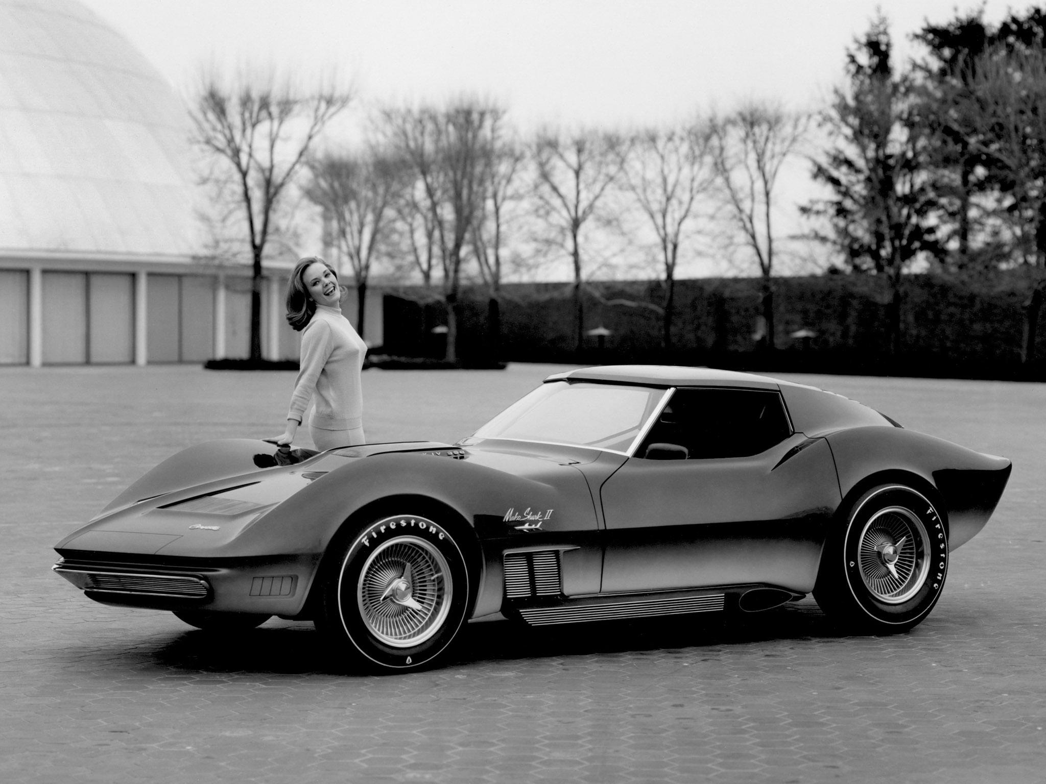 1965 Chevrolet Corvette Mako Shark Ii Concept Classic