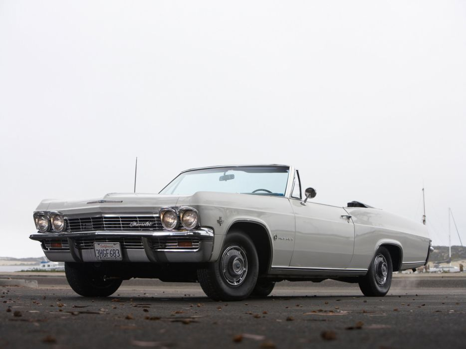 1965 Chevrolet Impala Convertible classic muscle wallpaper