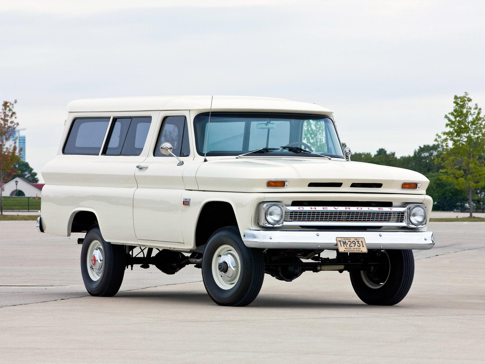 1965 Chevrolet Suburban 4x4 truck classic wallpaper   2048x1536 ...