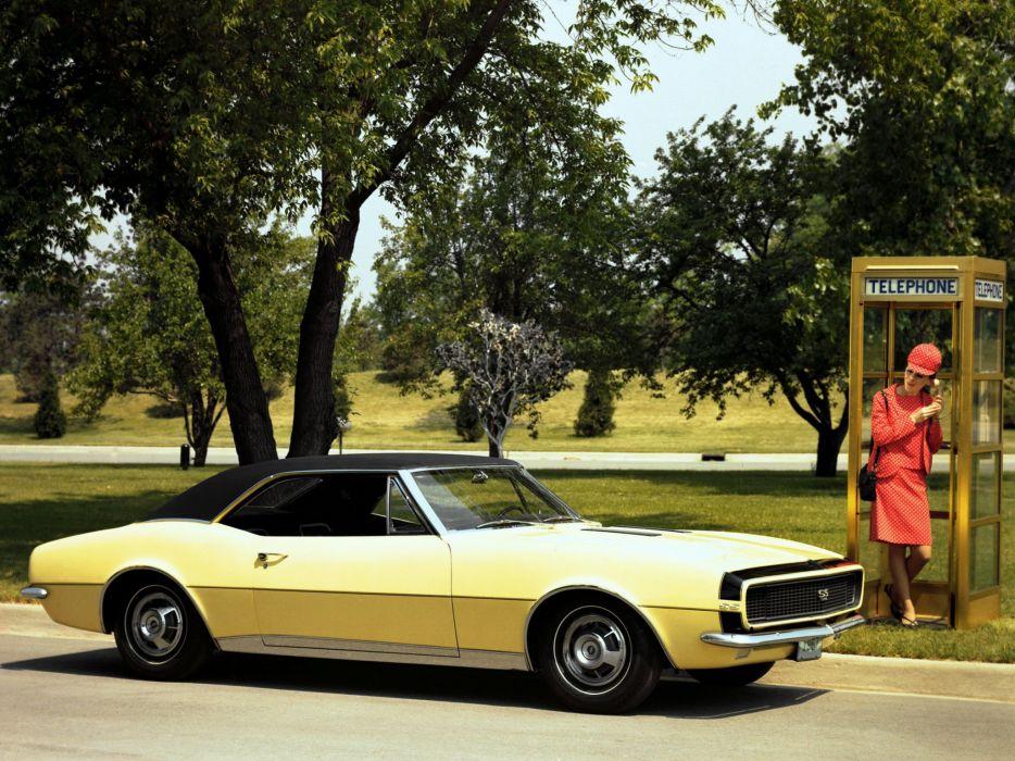 1967 Chevrolet Camaro R-S classic muscle   d wallpaper