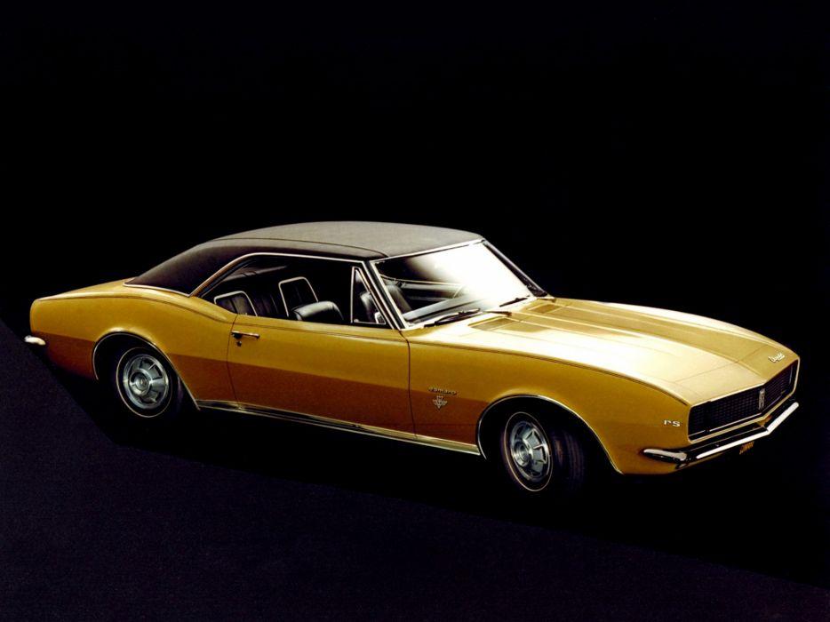 1967 Chevrolet Camaro R-S classic muscle wallpaper