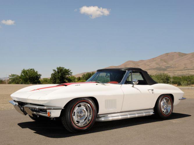1967 Chevrolet Corvette 427 L71 Convertible classic muscle supercar supercars f wallpaper