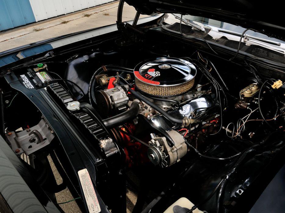 1968 Chevrolet Biscayne 2-door Sedan classic muscle engine engines wallpaper
