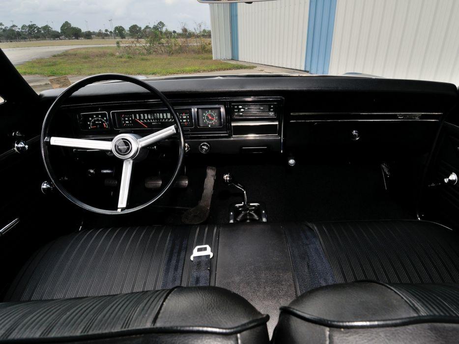 1968 Chevrolet Biscayne 2-door Sedan classic muscle interior wallpaper