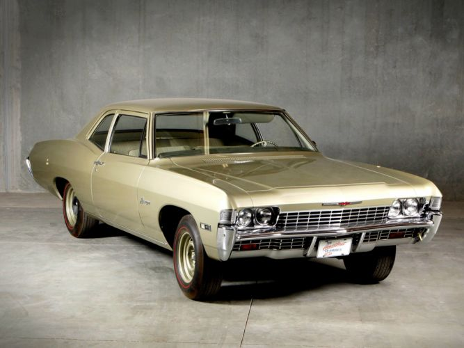 1968 Chevrolet Biscayne 2-door Sedan classic muscle wallpaper
