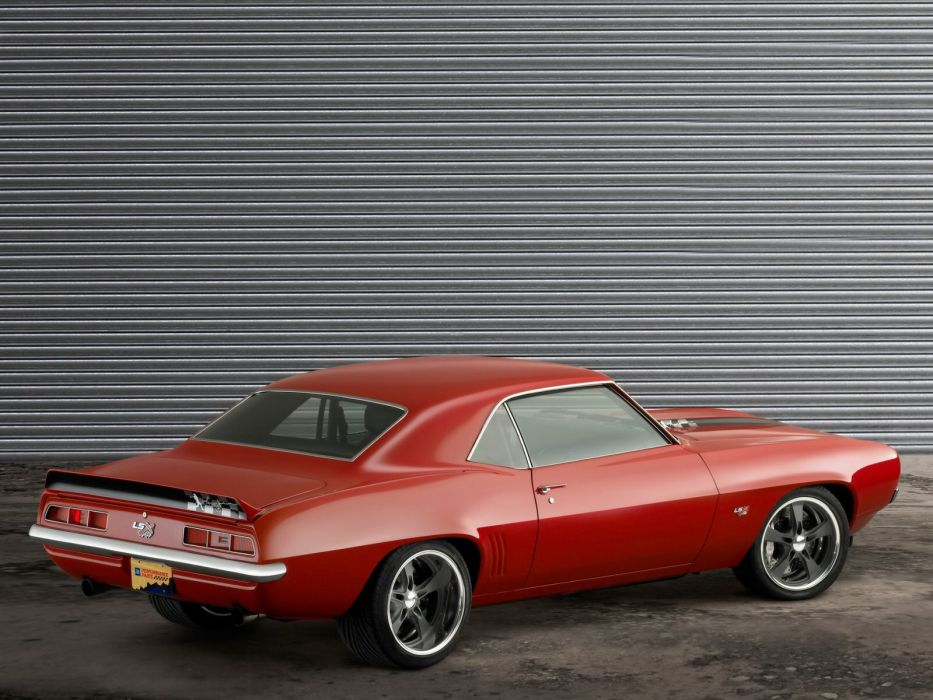1969 Chevrolet Camaro muscle classic hot rod rods f wallpaper