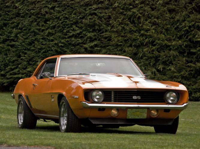 1969 Chevrolet Camaro S-S 396 classic muscle wallpaper