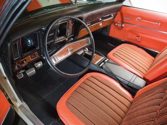 1969 Chevrolet Camaro S-S 396 Convertible classic muscle interior f wallpaper