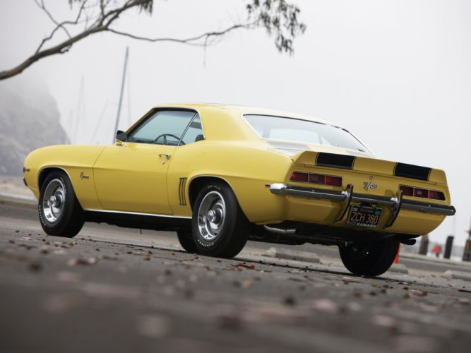 1969 Chevrolet Camaro Z28 classic muscle f wallpaper