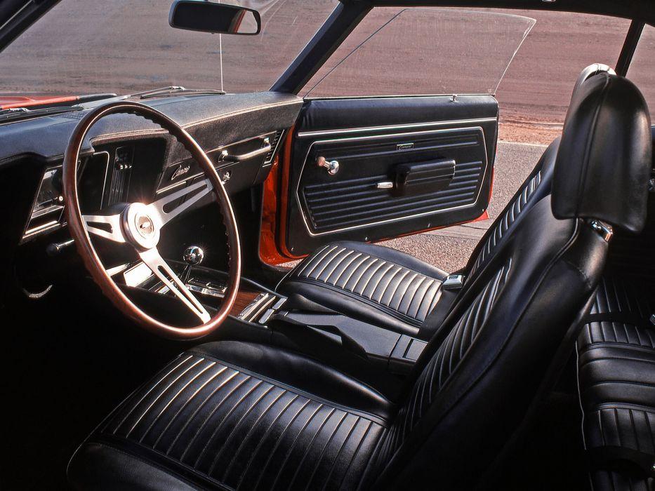 1969 Chevrolet Camaro Z28 classic muscle   e wallpaper