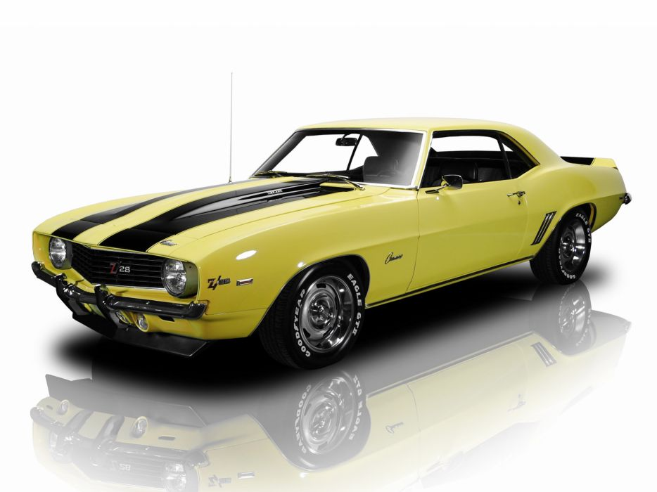 1969 Chevrolet Camaro Z28 classic muscle   f wallpaper
