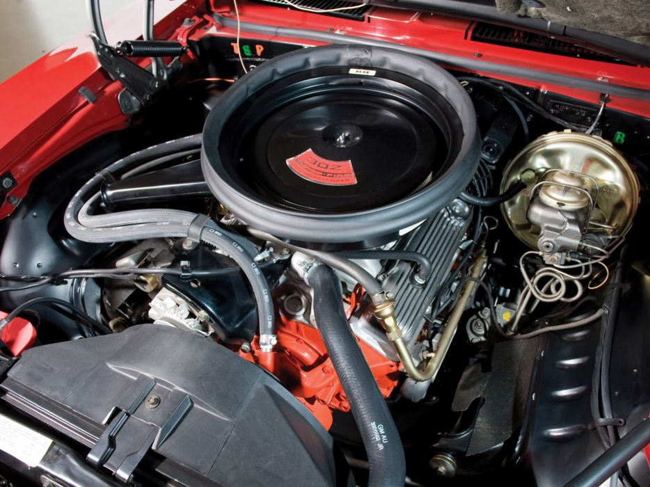 1969 Chevrolet Camaro Z28 classic muscle engine engines wallpaper