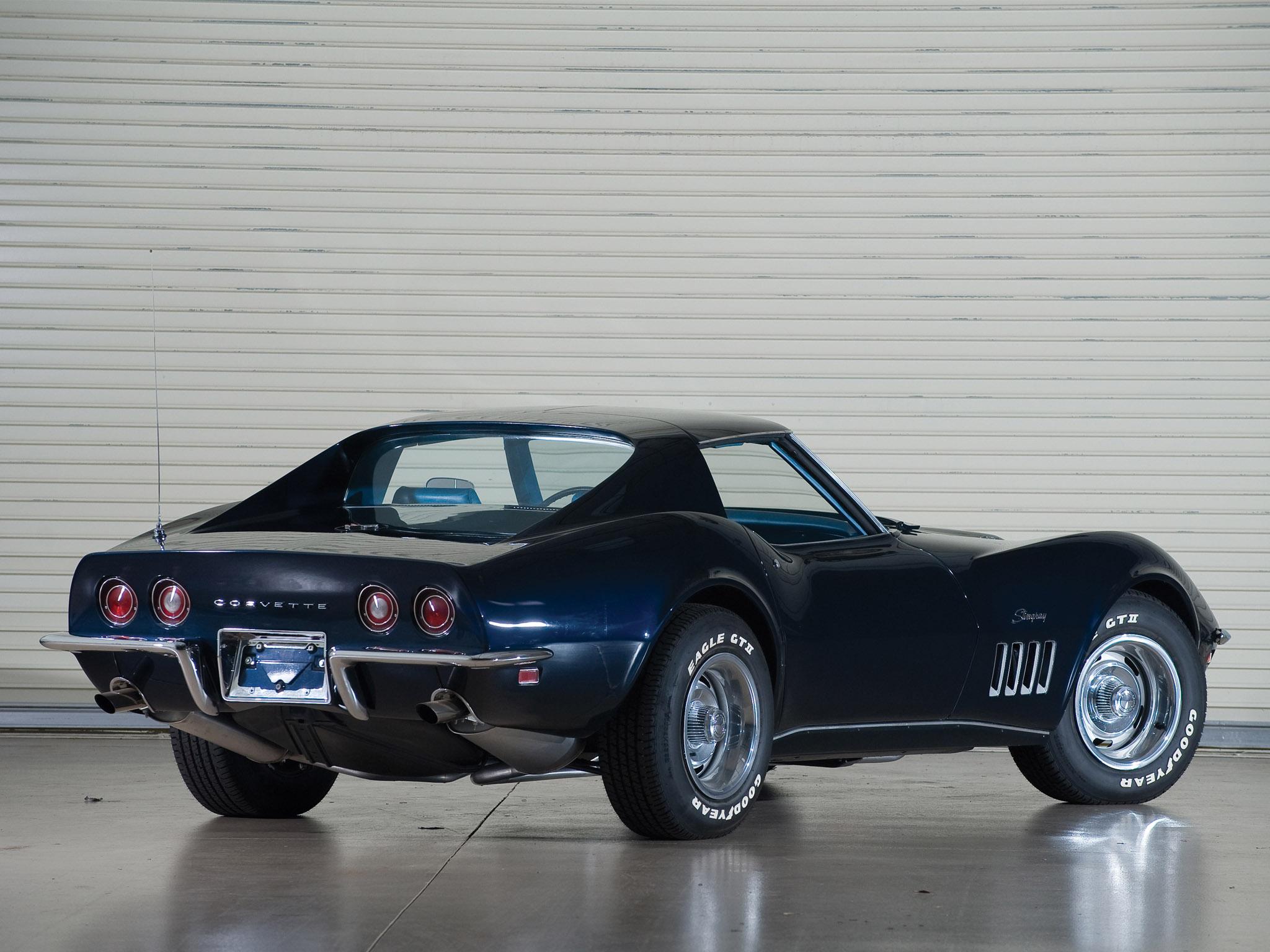 1969 chevrolet corvette c3 stingray l36 427 coupe classic muscle supercar supercars d wallpaper 2048x1536 108705 wallpaperup - Corvette Stingray 1969 Wallpaper