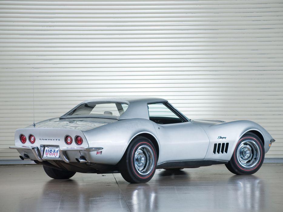 1969 Chevrolet Corvette C3 Stingray L71 427 Convertible classic muscle supercar supercars    f wallpaper