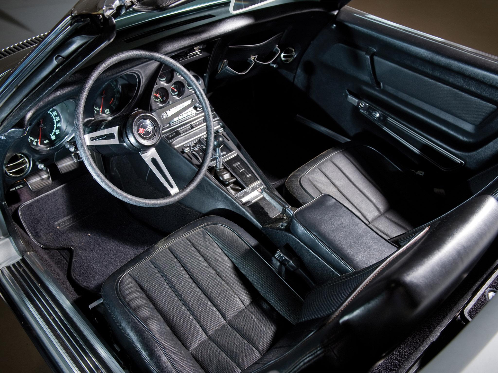 1969 chevrolet corvette c3 stingray l71 427 convertible classic muscle - Corvette 2013 Stingray Interior