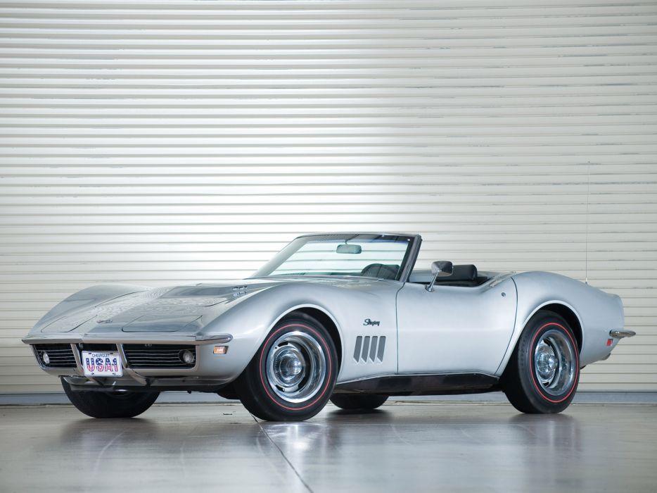1969 Chevrolet Corvette C3 Stingray L71 427 Convertible classic muscle supercar supercars wallpaper