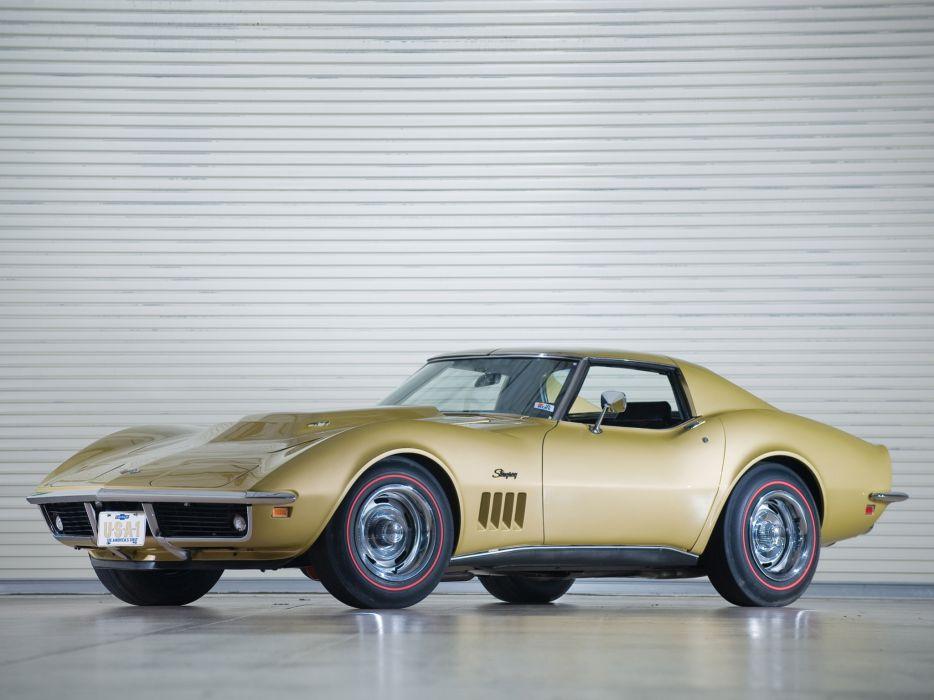 1969 Chevrolet Corvette C3 Stingray L88 427 classic muscle supercar supercars wallpaper