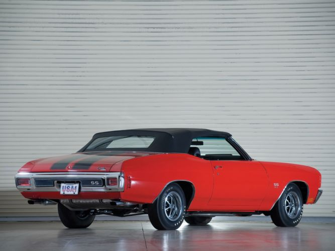 1970 Chevrolet Chevelle S-S 454 PRO LS6 Convertible classic muscle f wallpaper