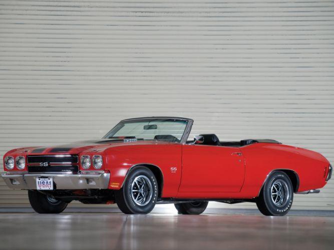 1970 Chevrolet Chevelle S-S 454 PRO LS6 Convertible classic muscle e wallpaper