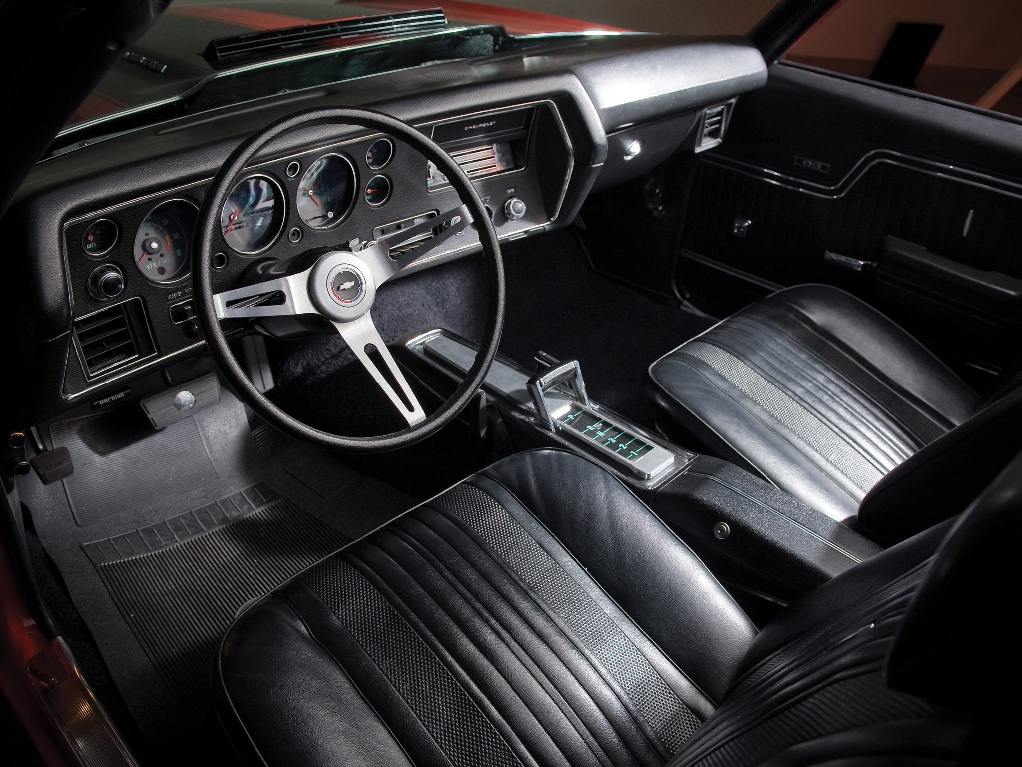 1970 chevrolet chevelle s s 454 pro ls6 convertible classic muscle interior wallpaper. Black Bedroom Furniture Sets. Home Design Ideas