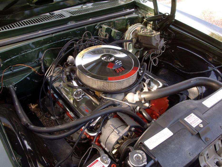 1970 Chevrolet Nova S-S 396 classic muscle engine engines wallpaper