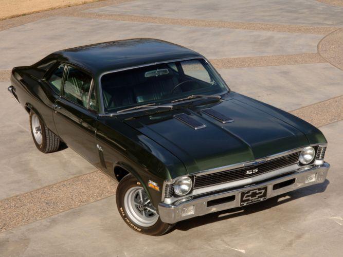1970 Chevrolet Nova S-S 396 classic muscle wallpaper