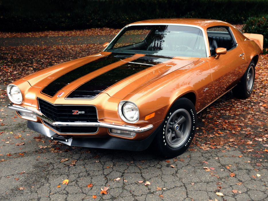 1971 Chevrolet Camaro Z28 2487 classic muscle wallpaper