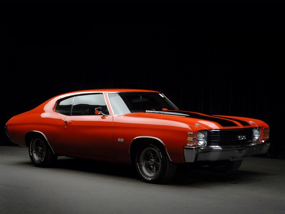 1971 Chevrolet Chevelle S-S classic muscle wallpaper
