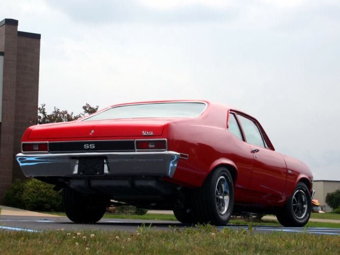1972 Chevrolet Nova S-S 350 classic muscle f wallpaper