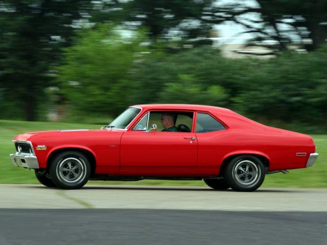 1972 Chevrolet Nova S-S 350 classic muscle g wallpaper
