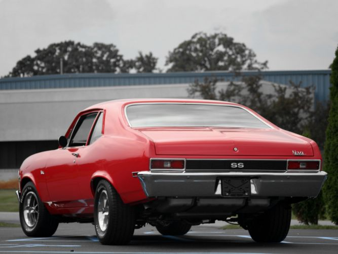 1972 Chevrolet Nova S-S 350 classic muscle t wallpaper