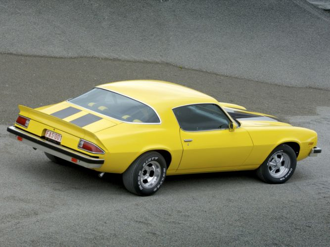 1975 Chevrolet Camaro classic muscle hot rod rods f wallpaper