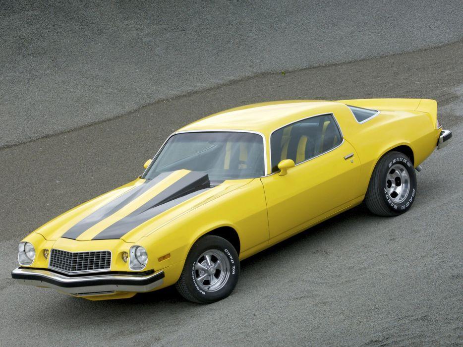 1975 Chevrolet Camaro classic muscle hot rod rods    fl wallpaper