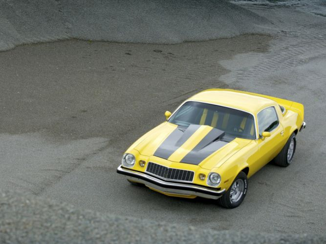 1975 Chevrolet Camaro classic muscle hot rod rods d wallpaper