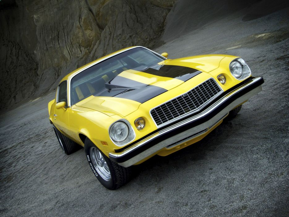 1975 Chevrolet Camaro classic muscle hot rod rods wallpaper